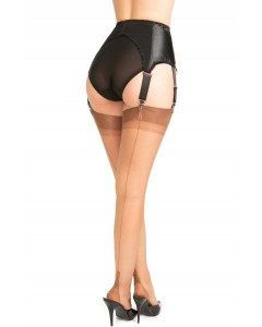 Seamed Tulle Tights Tiny Fishnet
